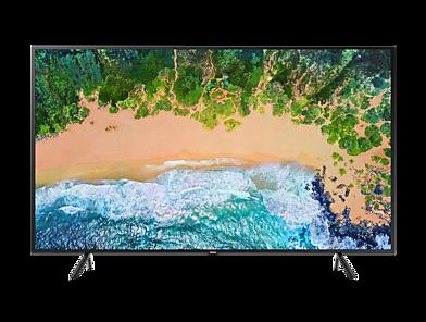 """Smart TV NU7100 75"""" UHD 4K, Visual Livre de Cabos, HDR Premium, Tizen, 3HDMI 2USB"""