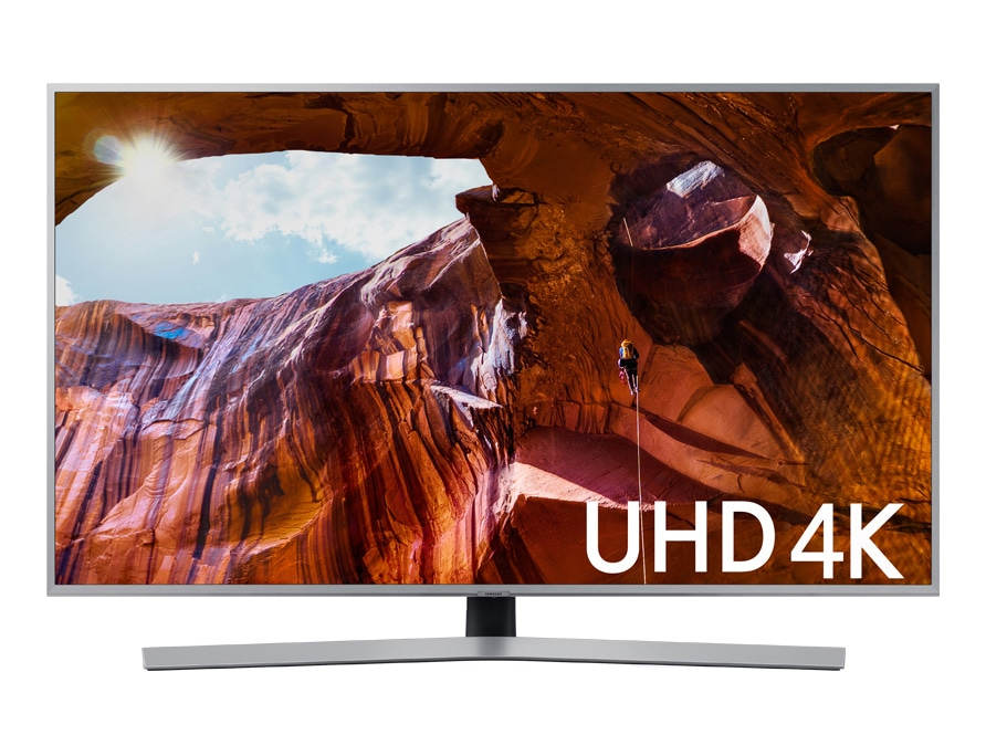 "Smart TV UHD 4K 2019 RU7400 65"", Design Premium, Visual com Cabos Escondidos, Controle Remoto Único e Bluetooth"