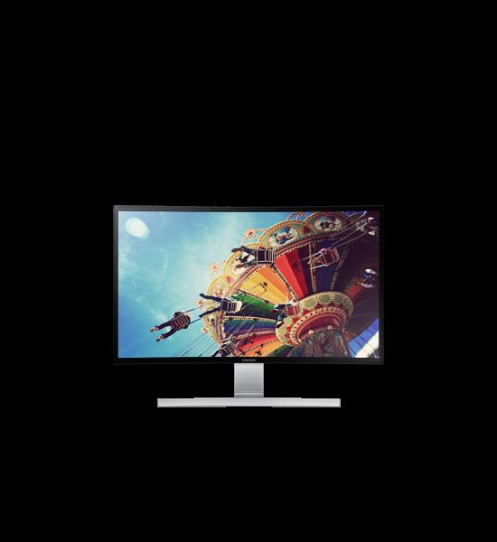 "27"" Monitor LED Curvo com autofalante"