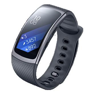 SM-R360 Samsung Gear Fit 2 - Large PRETO