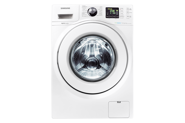 WD103U4SAWQ Lavadora e Secadora Branca 127 Volts WD103 10.1 kg na lavagem e 6.0 kg na secagem - Frontal Branco