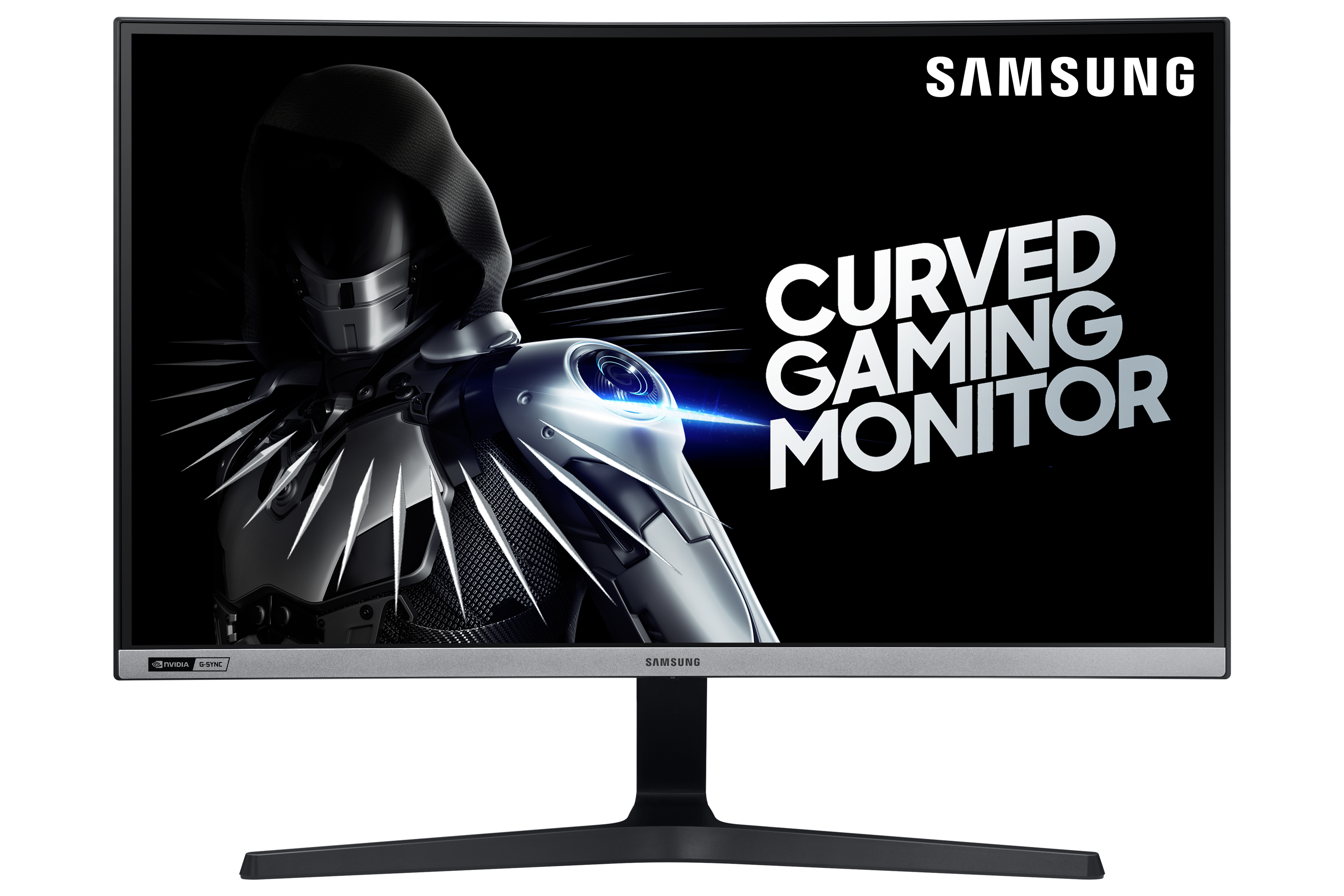 """Image of Samsung 27"""" Curved NVIDIA G-SYNC Compatible Gaming Monitor with 240Hz Refresh Rate"""