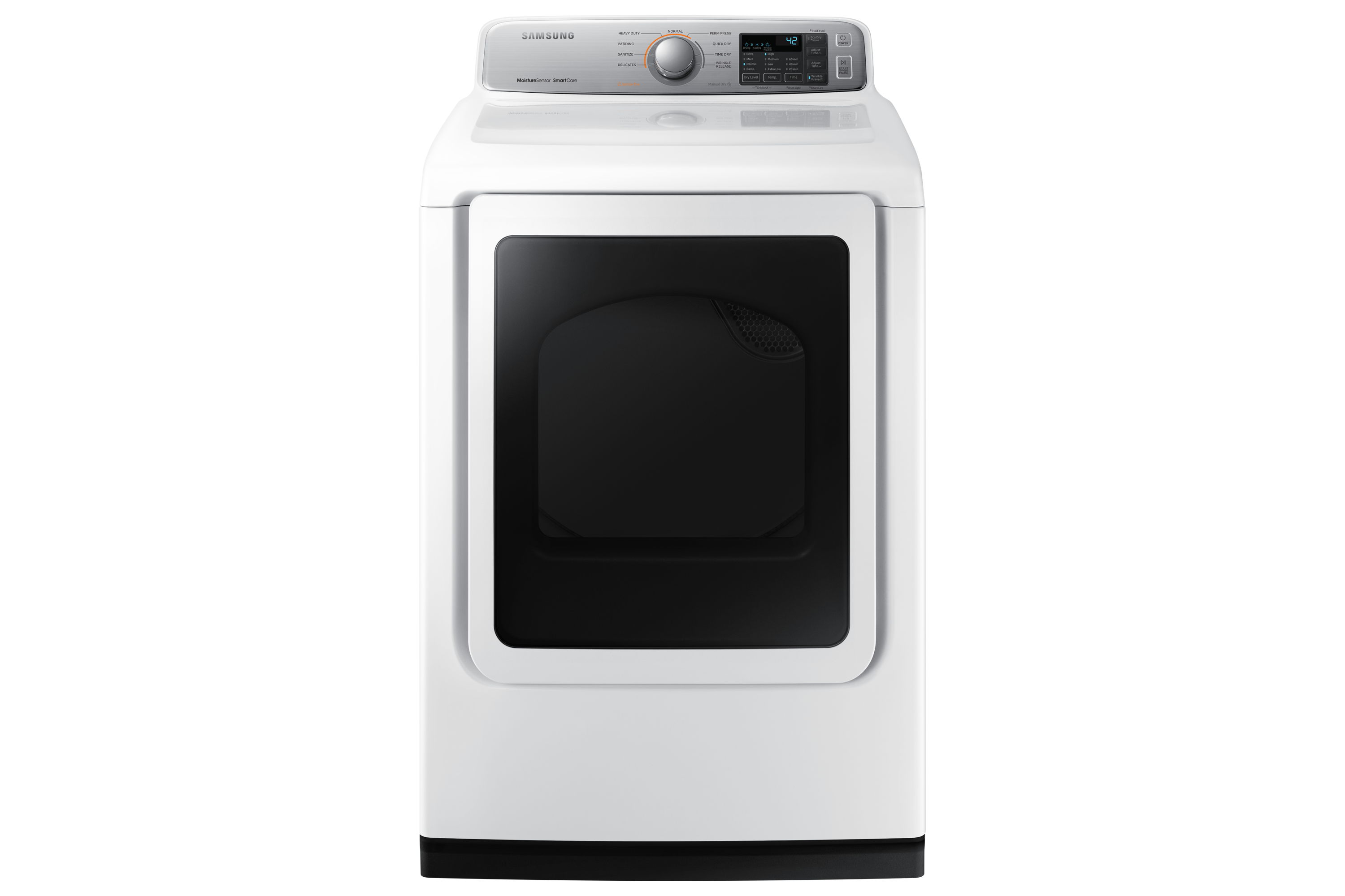 7.4 cu.ft. Dryer with Smart Care, DVE50N7350W/AC