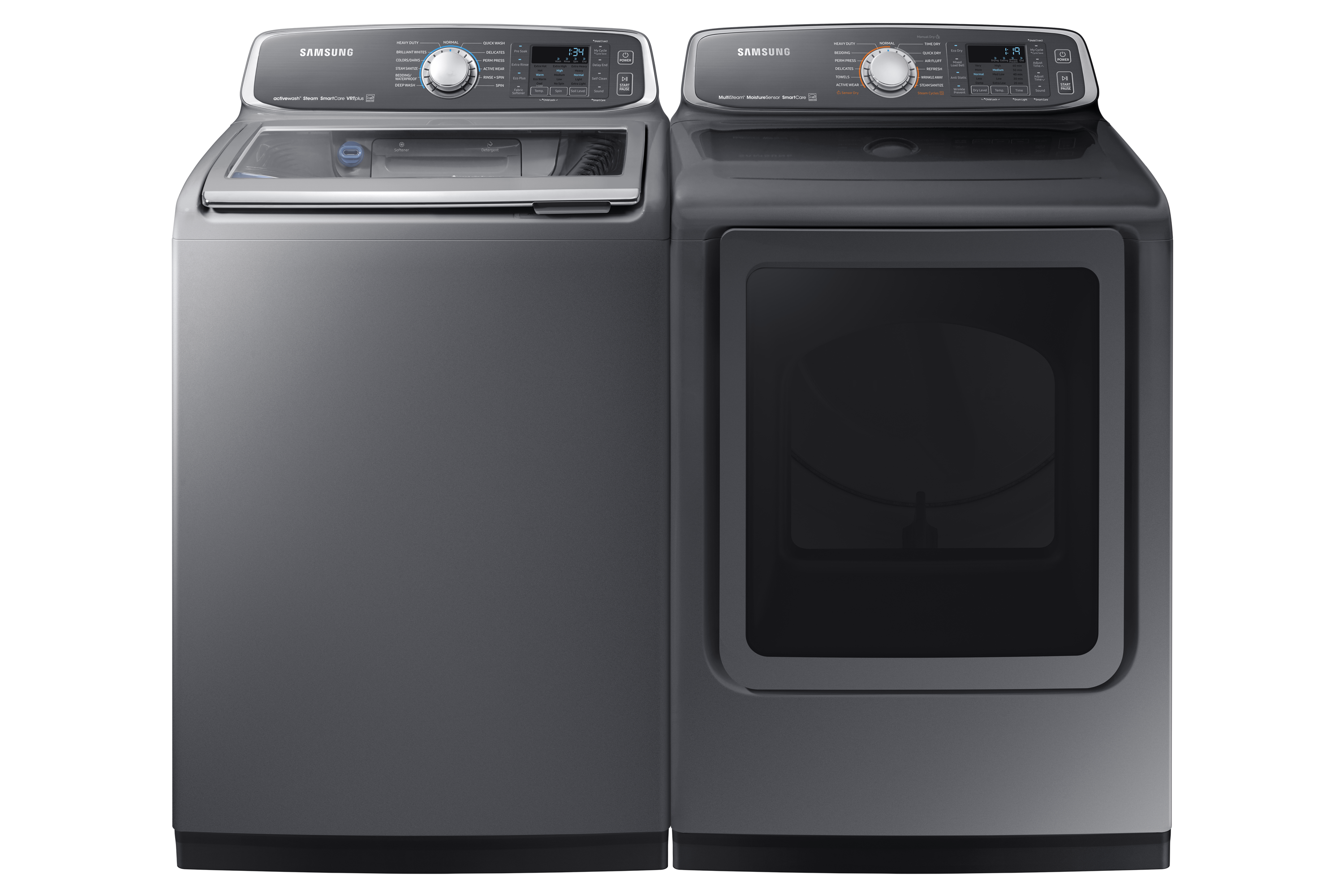 DVE52M7750P Dryer with MultiSteam™, 7.4 cu.ft