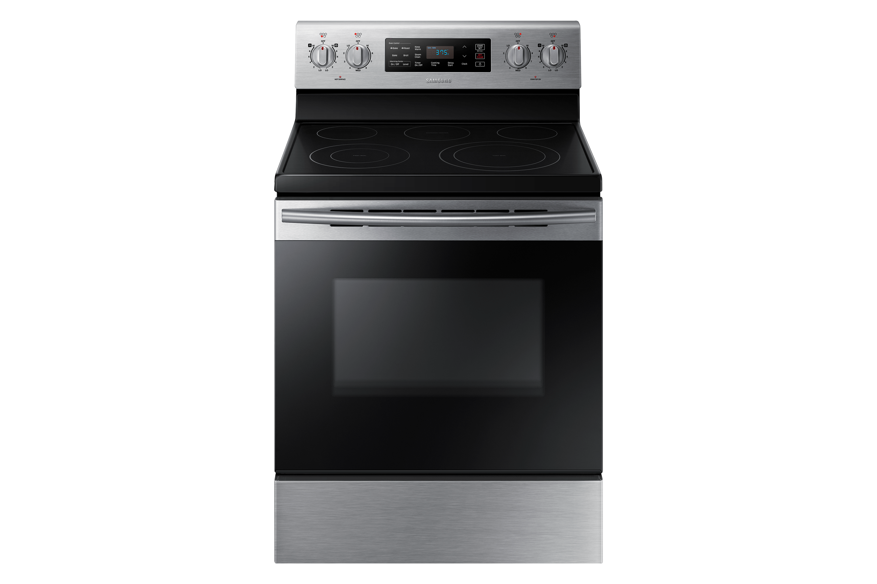 NE59K3321SS/AC Electric Range with Fan convection, 5.9. cu. Ft.
