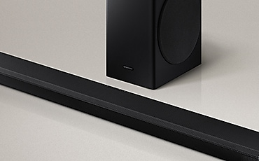 Close-up view of Q70T Soundba