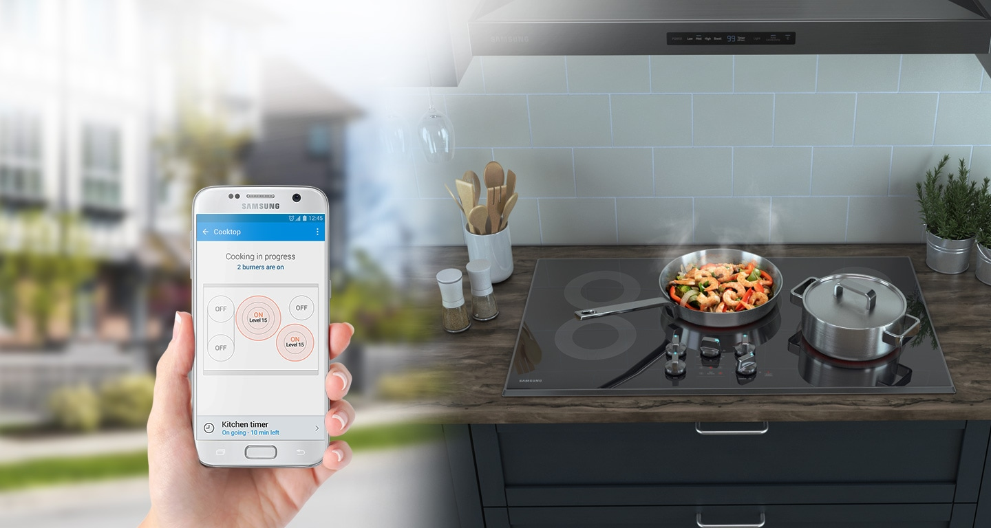 Remote & convenient cooktop monitoring