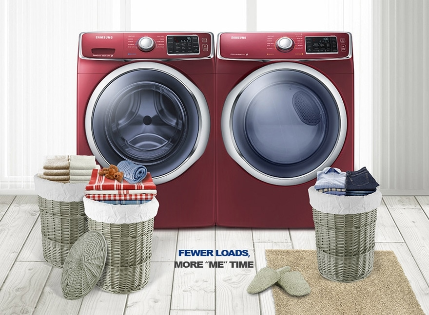 Dv42h5600ep Electric Front Load Dryer With Smart Care 7 5