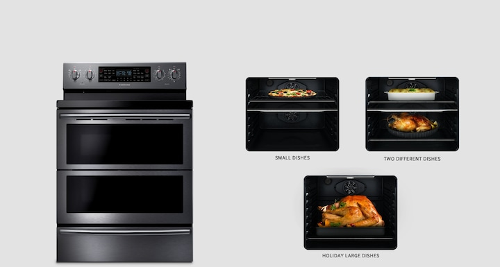 Three ovens in one