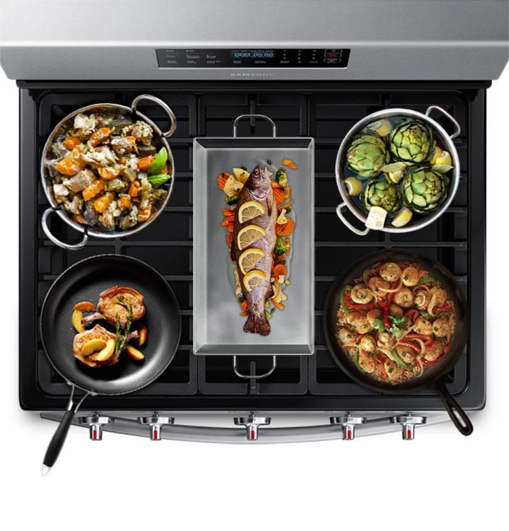 Enhanced cooking control &flexibility