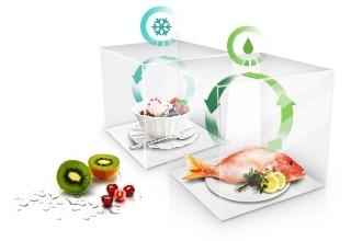 Keep food fresher, longer*