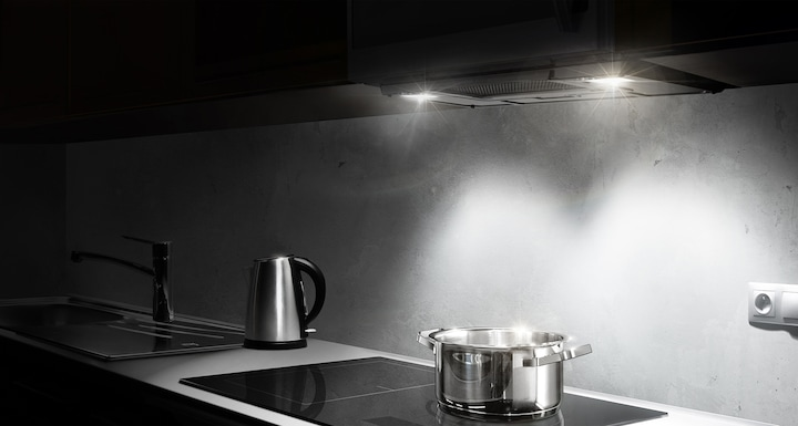 LED cooktop light