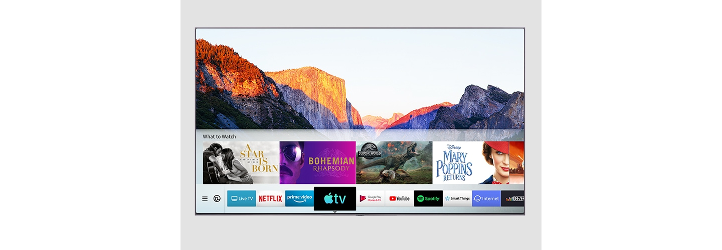 QLED meets the new Apple TV app