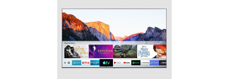 QLED meets the new Apple TV app