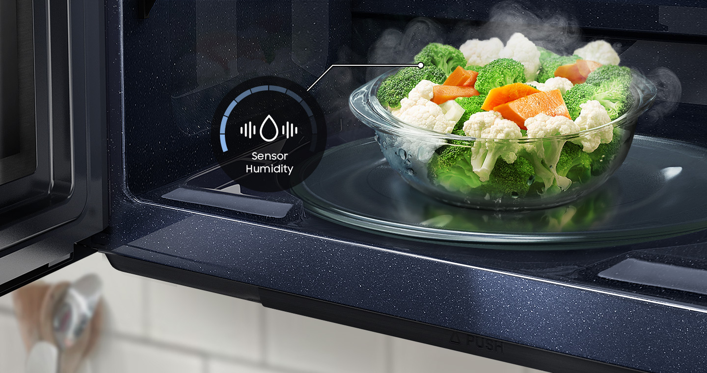 Automatically adjusts cooking time for optimal results