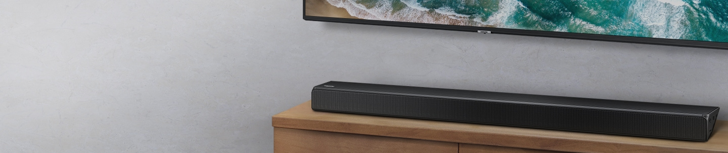 Soundbar optimized for Samsung TVs