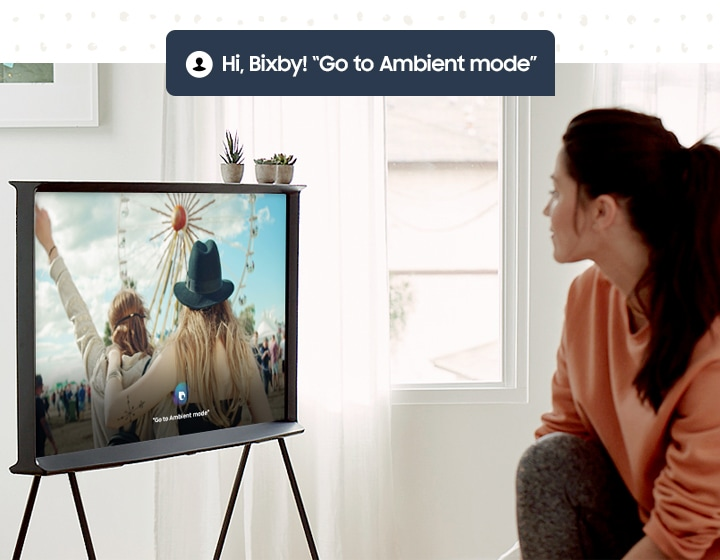 Bixby Voice Assistant on TV