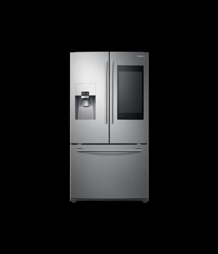 rf22k r frig rateur de 22 pi portes fran aises 4 portes et profondeur de comptoir en. Black Bedroom Furniture Sets. Home Design Ideas