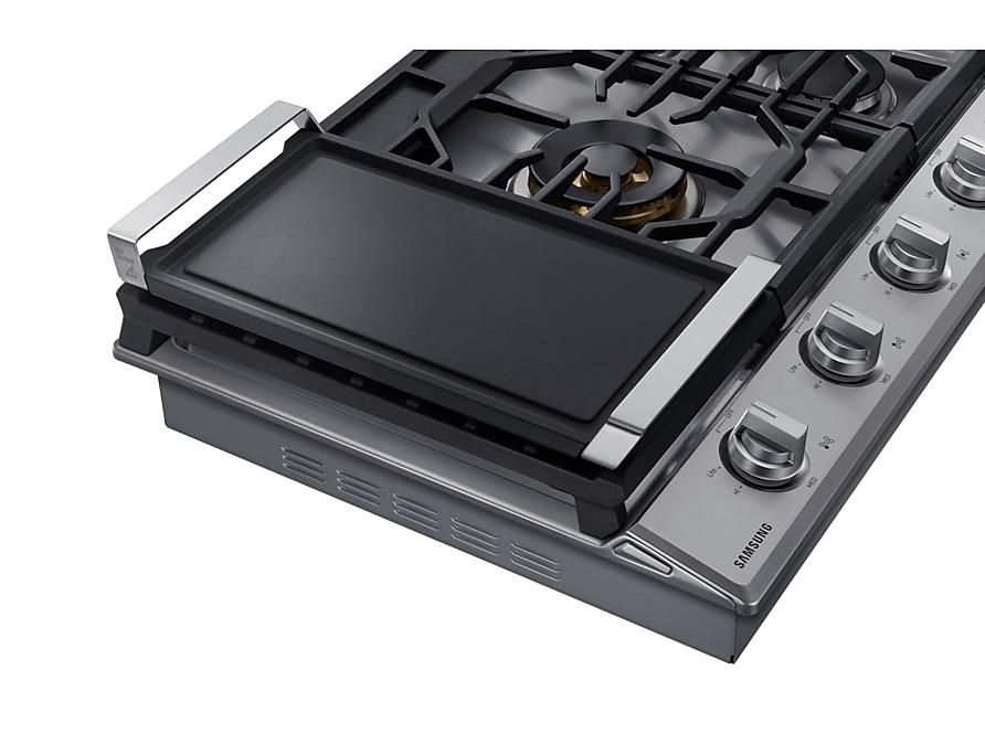 cast-iron-griddle silver