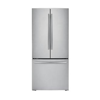 IBACI-FDR - Réfrigérateur de 21,6pi³ et de 30po à portes françaises, 3portes (acier inoxydable)