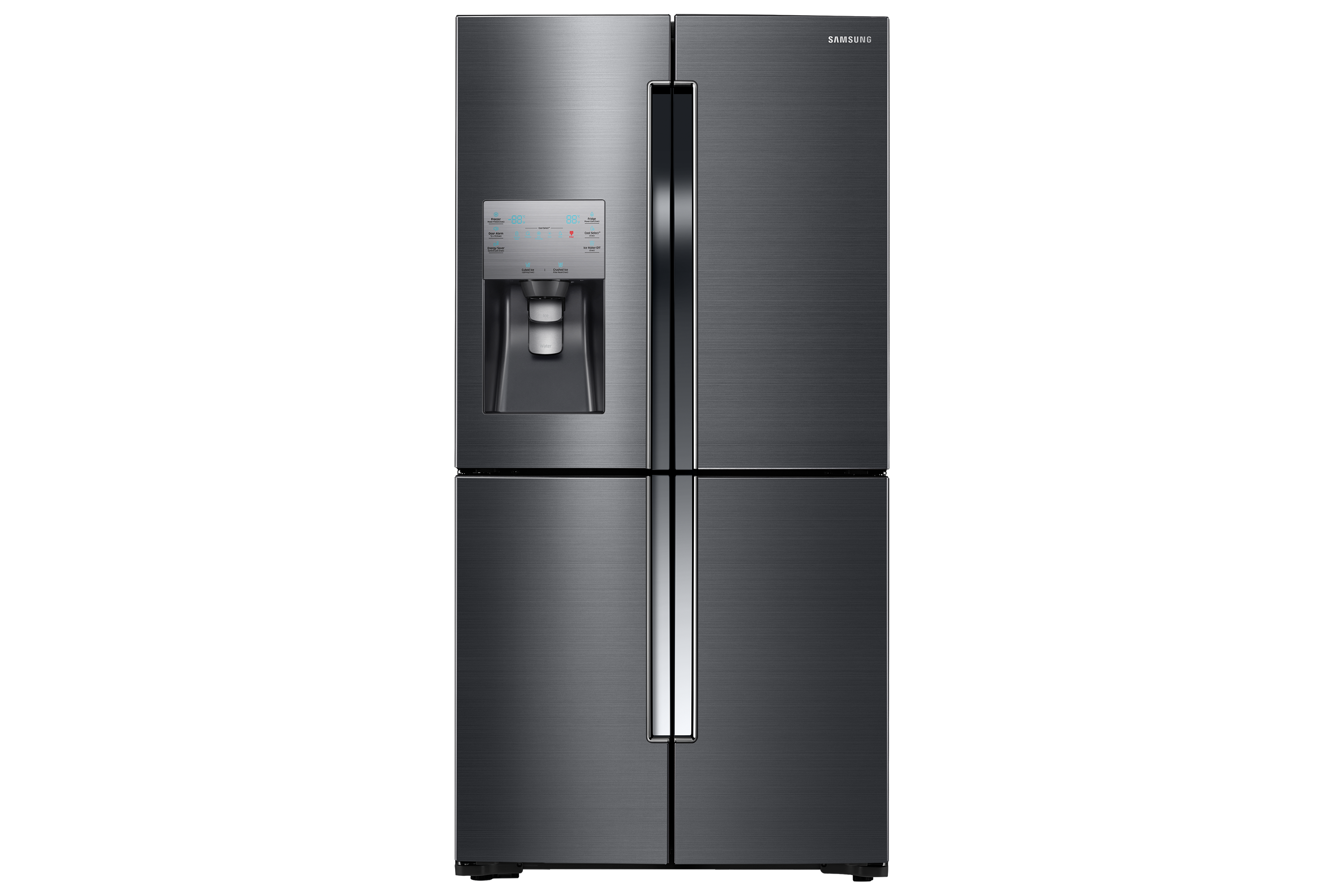 RF23J9011SG Black Stainless 4 Door Flex with Triple Cooling system, 22.5 cu.ft.