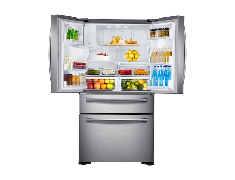 Rf24fsedbsr French Door Refrigerator With Twin Cooling