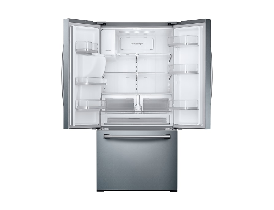 Rf26j7500sr French Door Refrigerator With Twin Cooling