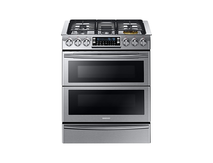 Amazing Samsung Ny58J9850Ws Gas Range With Dual Fuel Technology 5 8 Download Free Architecture Designs Itiscsunscenecom