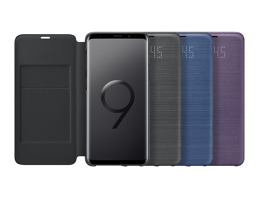 check out 4b118 a4426 LED View Cover (Galaxy S9+) | EF-NG965PVEGCA | Samsung CA