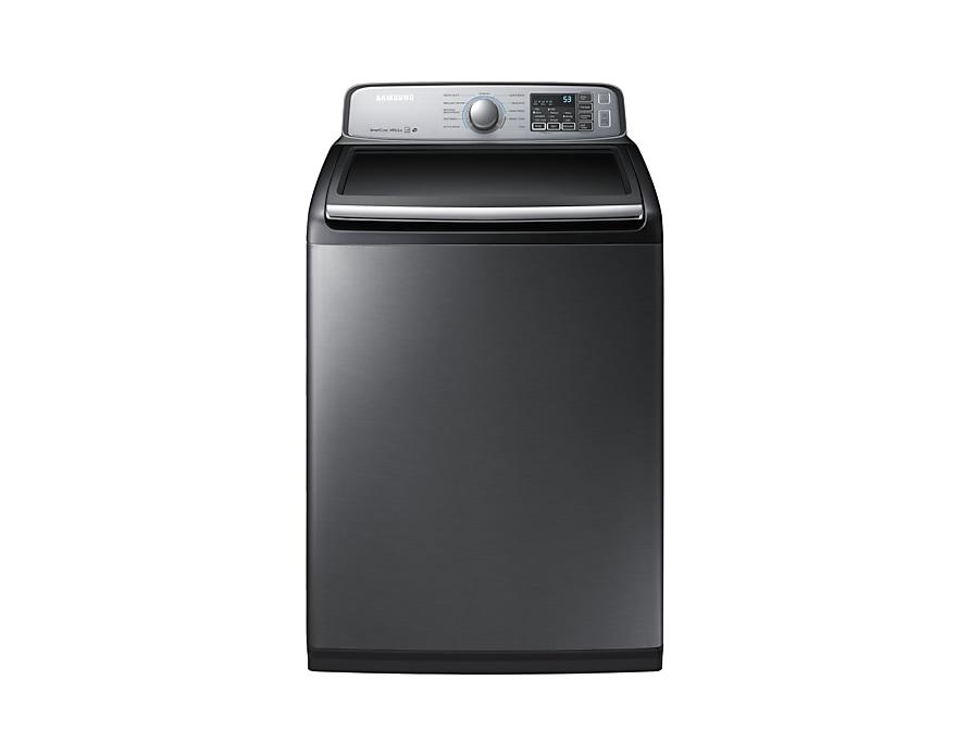 Samsung WA50M7450AP Top-Load Washer, 5 8 cu ft  | Samsung CA