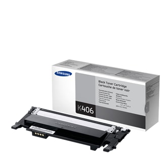 CLT-K406S  Black Toner (1,500 pages)