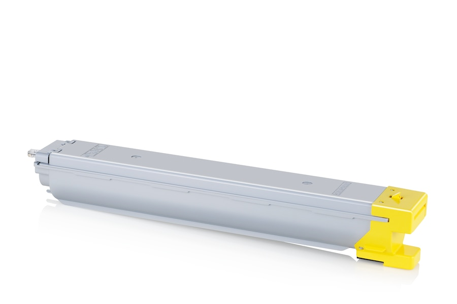 CLT-Y809S  Yellow Toner (15,000 pages) Y809S Right angle Silver