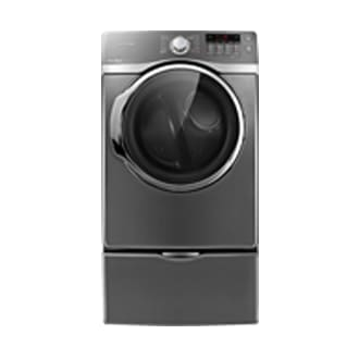 DV405ETPASU 7.4 cu.ft Electric Front Load Dryer Stainless Platinum