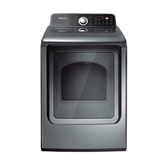 DV456ETHDSU 7.3 cu.ft King-Size Capacity Electric Top-Load  Dryer (Stainless Platinum)