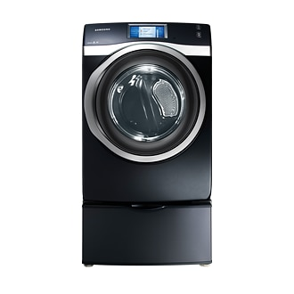 DV457EVGSGR 7.5 cu.ft Electric Front Load Dryer Charcoal
