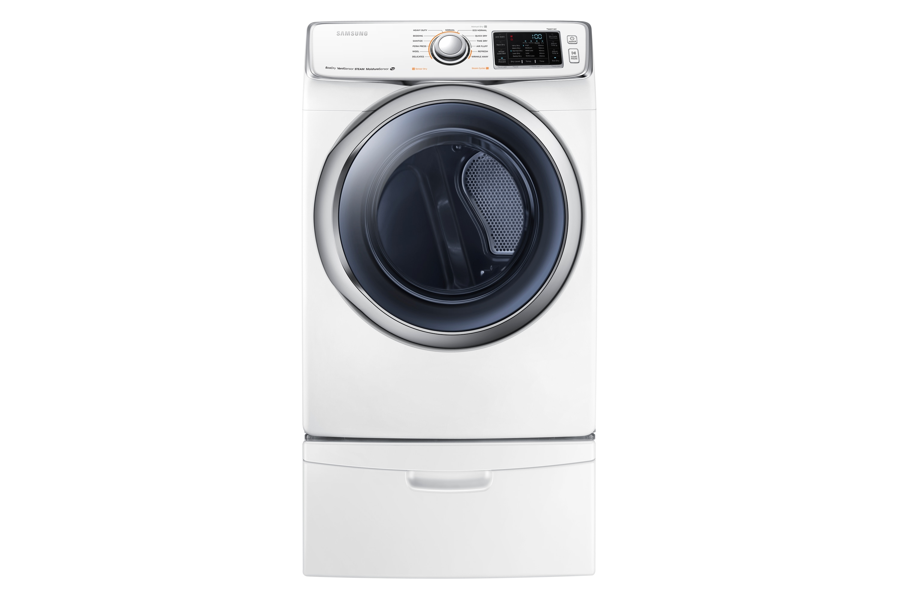 DV6300 7.5 cu.ft Electric Front-Load Dryer (White)