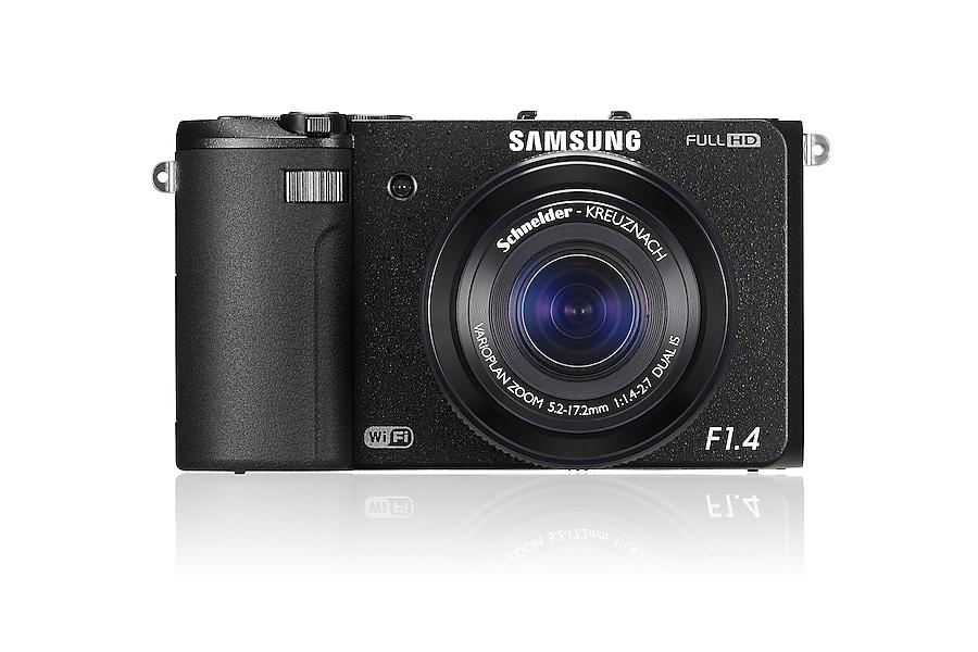 SAMSUNG EX2F front Black