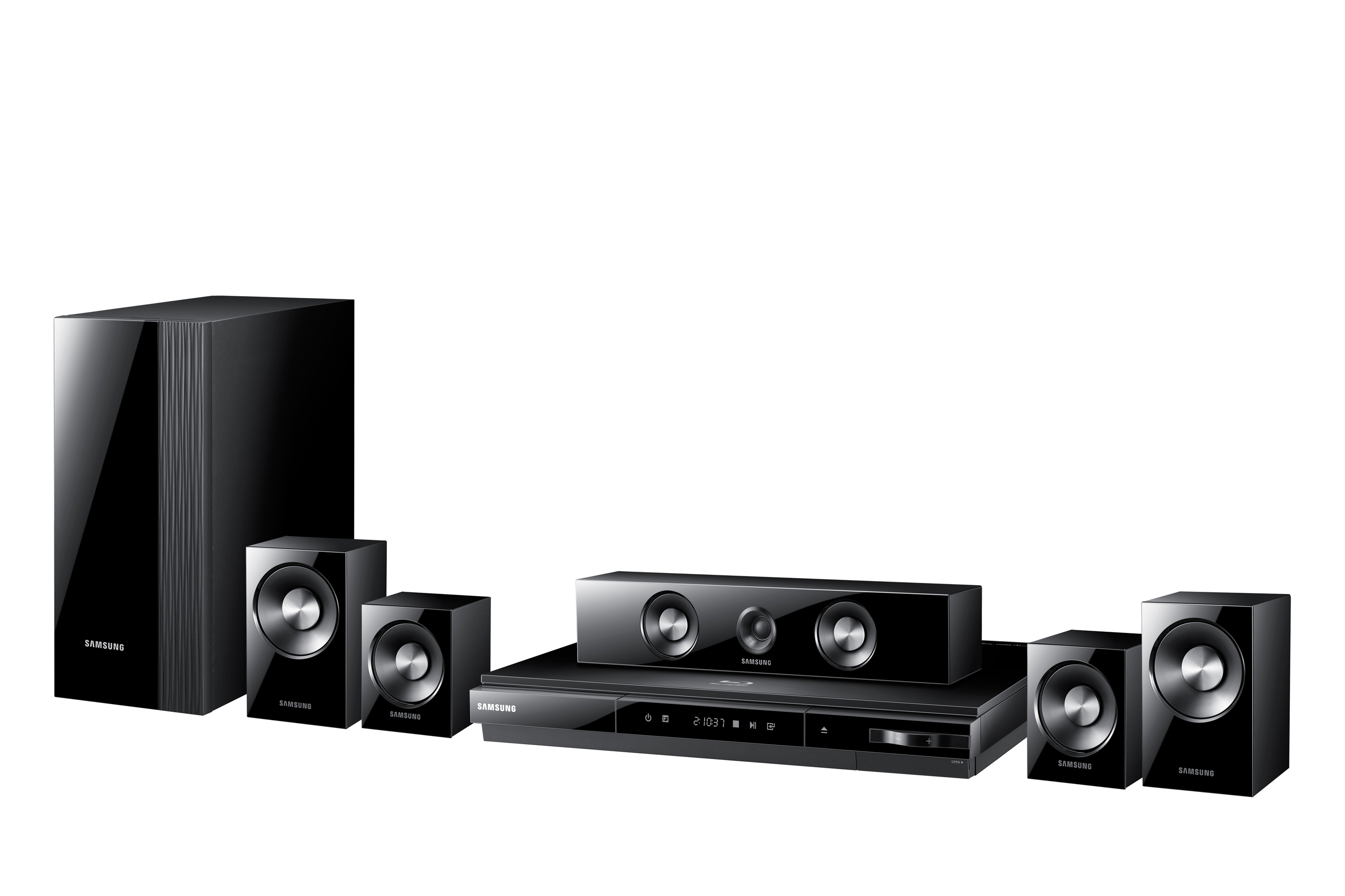Smart 1080p Blu-ray Home Theatre HT-D5100