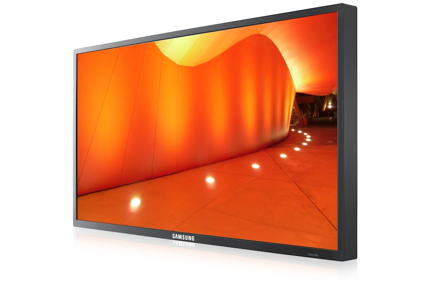 "55"" Large Format LCD display 550DX 550DX Right Angle Black"