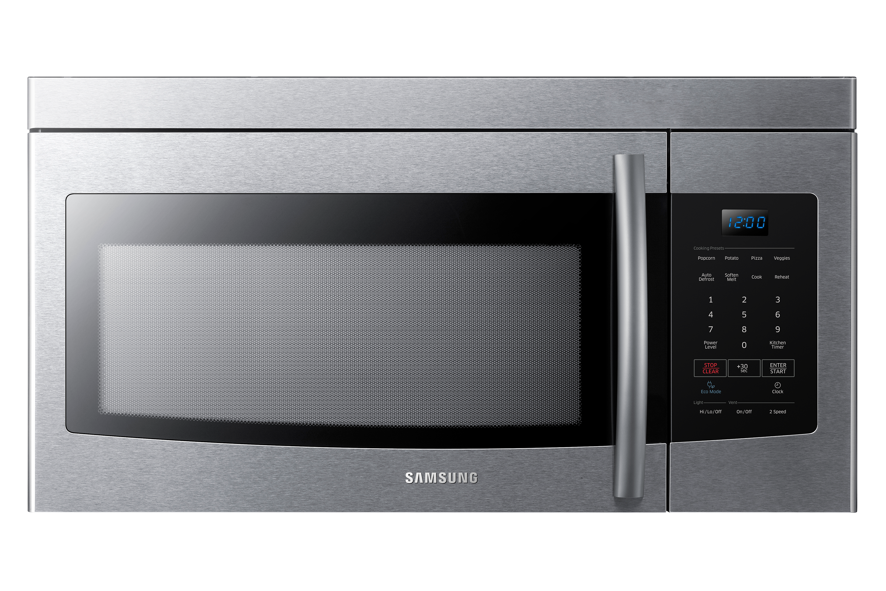 Samsung Me16k3000as Over The Range Microwave 1 6 Cu Ft