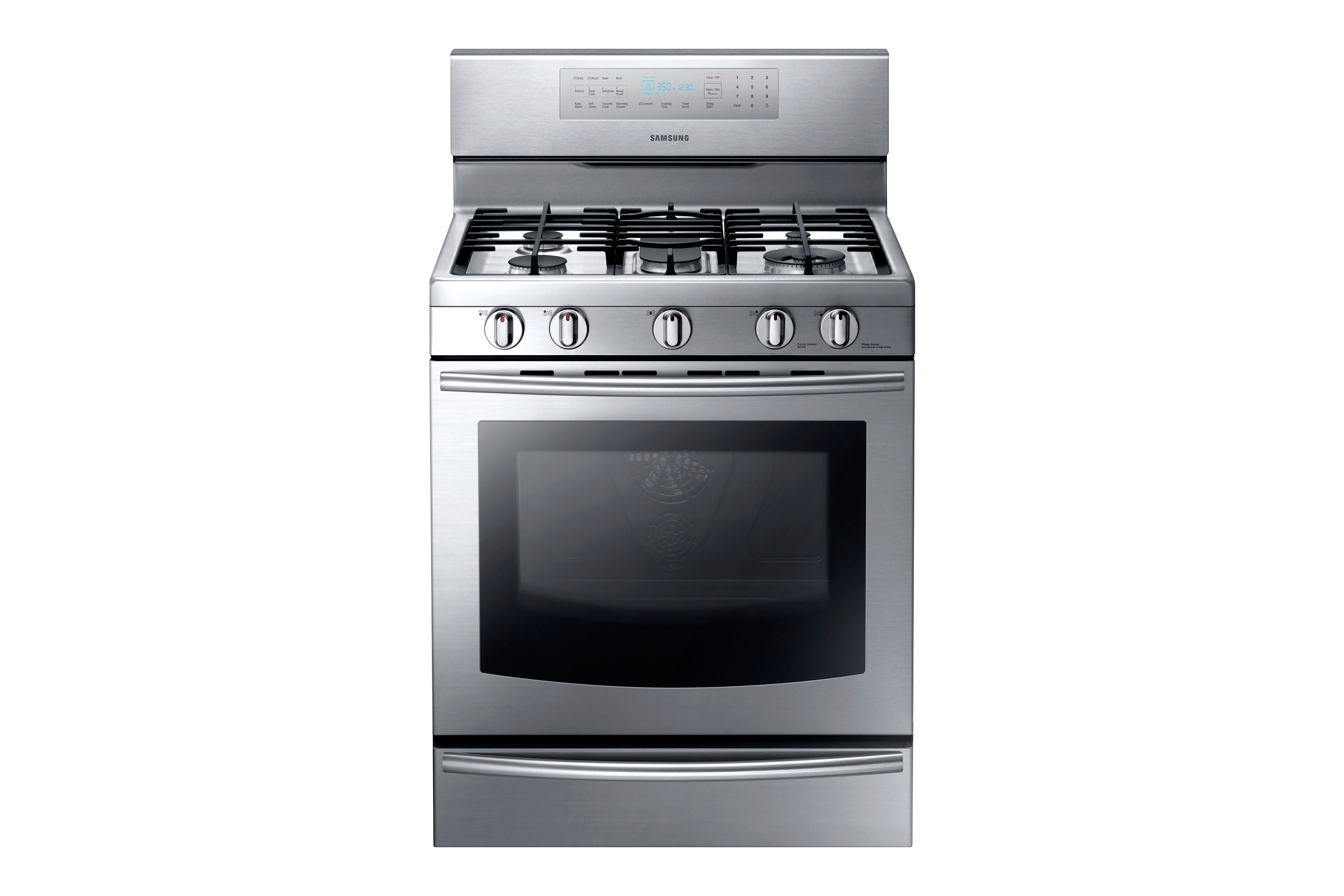 NX-F500A 5.8 cu.ft Gas Range (Stainless Steel)