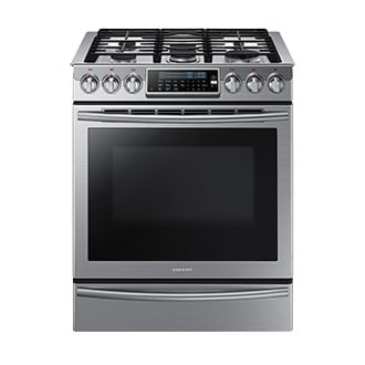 NX58H9500WS/AC NX9000 5.8 cu.ft Gas Range (Stainless Steel)