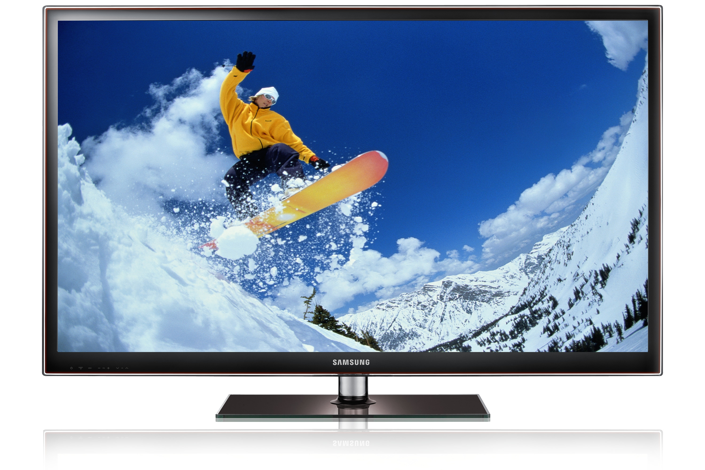 51 550 Series 3D full HD Plasma TV