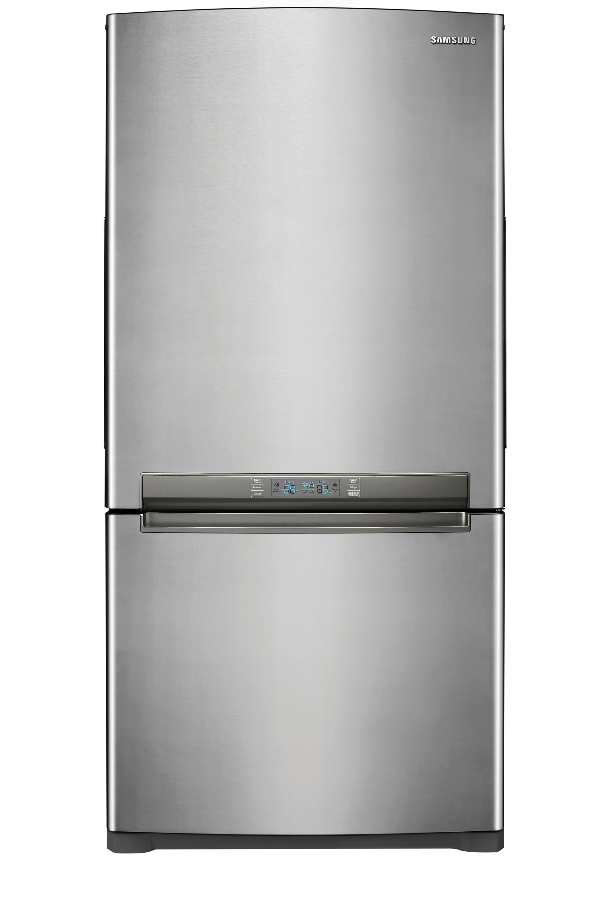 RB196ACRS 17.7 cu.ft Bottom Mount Freezer Refrigerator Stainless Steel