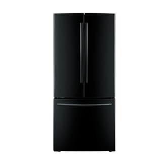 RF220NCTABC/AA IBACI-FDR 30 Inch 21.6 cu.ft 3-Door French Door Refrigerator (Black)
