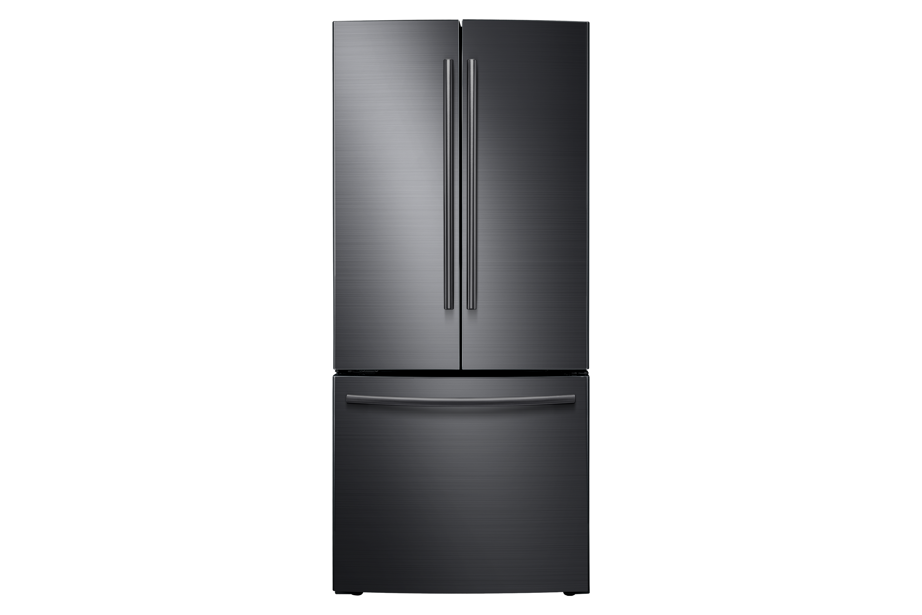 Rf220nctasg Black Stainless French Door Refrigerator With