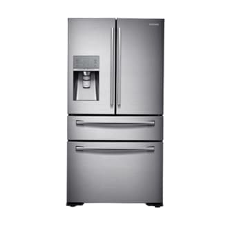 RF23HSESBSR RF9000 Counter Depth 22.6 cu.ft 4-Door French Door Refrigerator (Real Stainless)