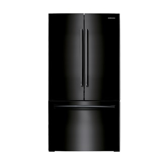 AW1 25.6 cu.ft 3-Door French Door Refrigerator (Black)