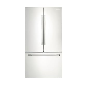 RF260BEAEWW French Door Refrigerator with Twin Cooling Plus, 25.5 cu. ft.