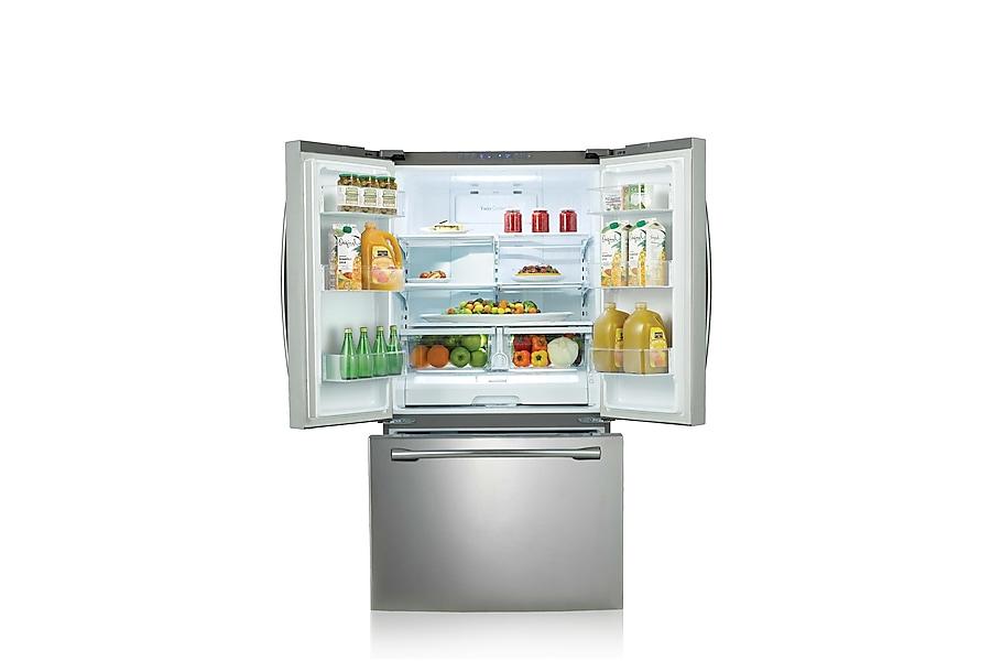 AW1 25.6 cu.ft 3-Door French Door Refrigerator (Stainless Steel)